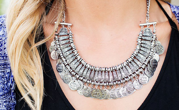 elegant matinee necklace