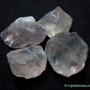 rose quartz rough pieces